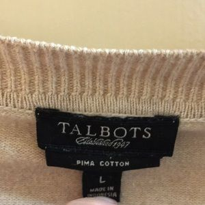 Talbots Sweaters - Talbots-camel colored cardigan-size large